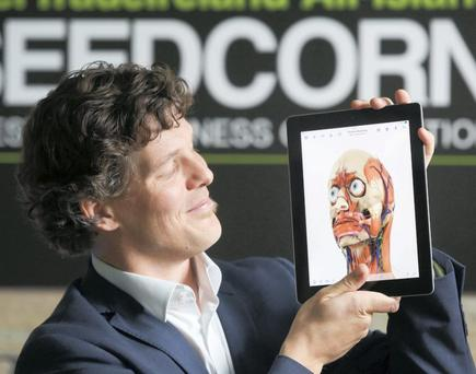 WHAT LIES BENEATH: Mark Campbell with his new app