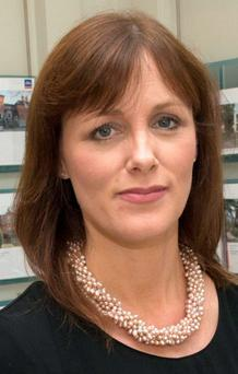 CONFIDENCE IS HIT: Marian Finnegan of Sherry FitzGerald doesn't expect 2015 to prove as strong as 2014 was