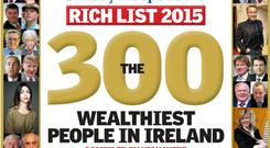 Rich List cover 2015