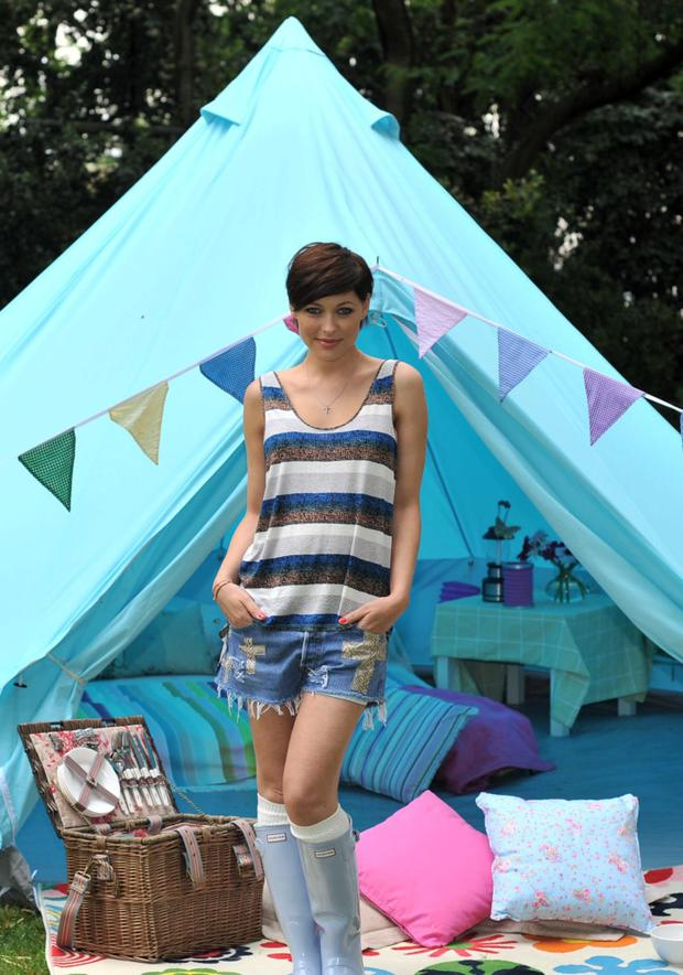 Carry on Glamping: Romance? Under canvas?
