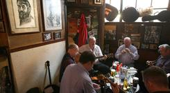 O'Donoghue's:The landmark pub on Merrion Row has long been associated with traditional Irish music