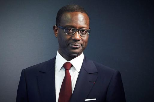 Credit Suisse designated CEO Tidjane Thiam . AFP PHOTO