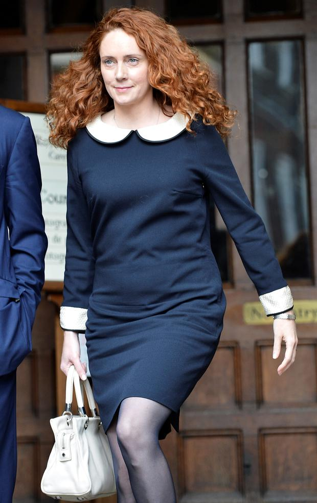 Rebekah Brooks, former 'News of the World' editor