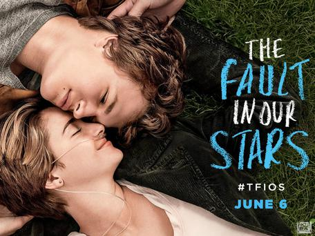A scene from the movie adaptation of 'The Fault in our Stars'
