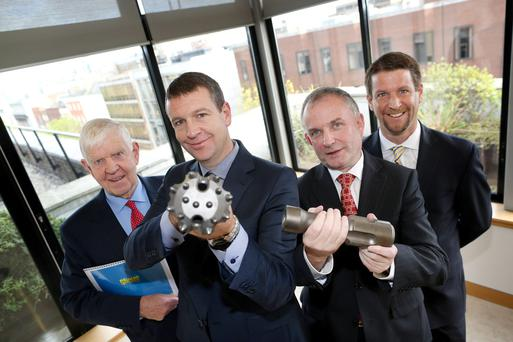 Patrick Purcell, Founder and Non-Executive Director, Mincon, Joseph Purcell, Chief Technical Officer, Mincon, Kevin Barry, Chief Executive, Mincon and Thomas Purcell, Sales Director, Mincon.