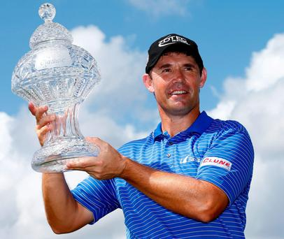 PADRAIG HARRINGTON: He's a believer in the chimp paradox
