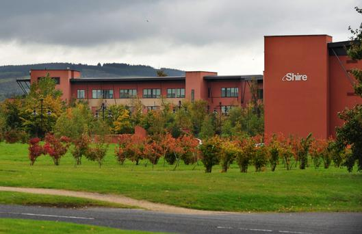 SHIRE, (pictured) the Irish-headquartered drugs company