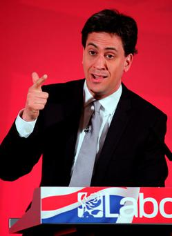 British Labour party leader Ed Miliband. Photo: PA