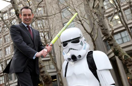 Managing director Richard Eardley at a recent photo call in Dublin for Hays Ireland