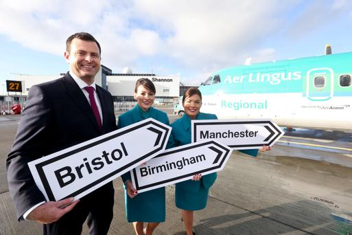 Aer Lingus Regional, one of the airlines using Shannon Airport, which is expecting single-digit passenger growth this year after 1.6 million used the facility last year