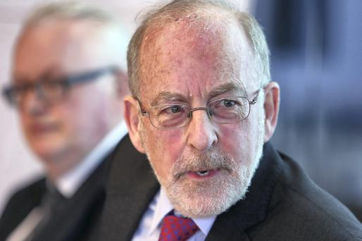 POSITIVE LEGACY: Central Bank boss Patrick Honohan is stepping down