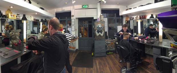 LUXURIANT GROWTH: 'In 1996 we had 28 barbers in Cork. Now there are 214,' says Lorraine Stout of Bladez in Cork City