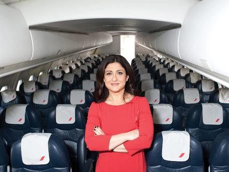 Christine Ourmieres, formerly of CityJet
