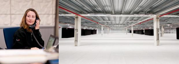 Inside one of Telecity's data centres. The UK company has three facilities in Dublin