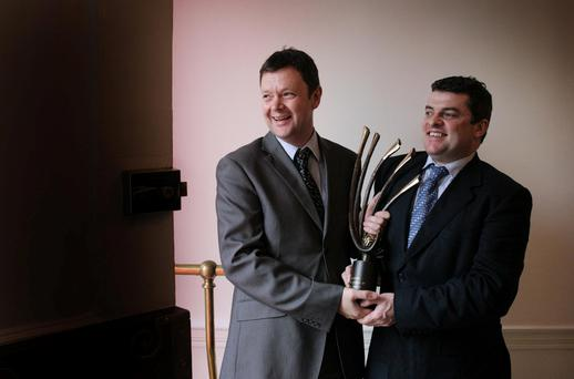Pharma: EirGen founders Patsy Carney and Tom Brennan as young entrepreneurs