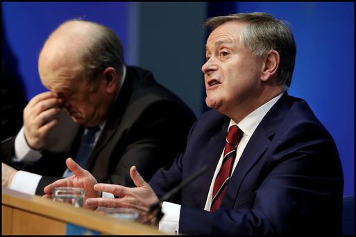 Michael Noonan has taken from the private sector – but can colleague Brendan Howlin afford to give to public servants?