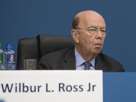 NO AIB STOCK: Wilbur Ross said he only invests in struggling businesses