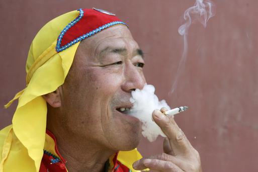 A quiet puff: Tobacco advertising is one of the areas that will become more restricted under new Chinese legislation coming into force in September