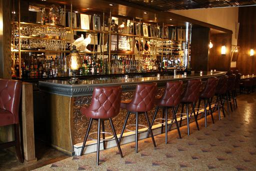 The front bar in Langton's