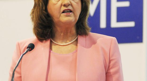 Tánaiste Joan Burton addresses the FundSME conference