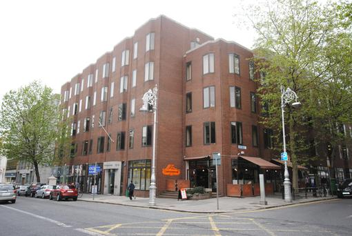 The 1970s building at the corner of Dublin's Dawson Street and Molesworth Street would be demolished under the plan