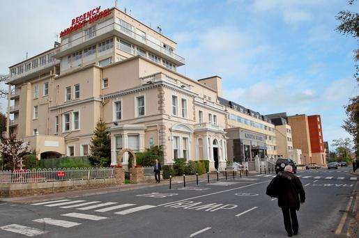 The Regency Hotel, which is situated near Dublin Airport