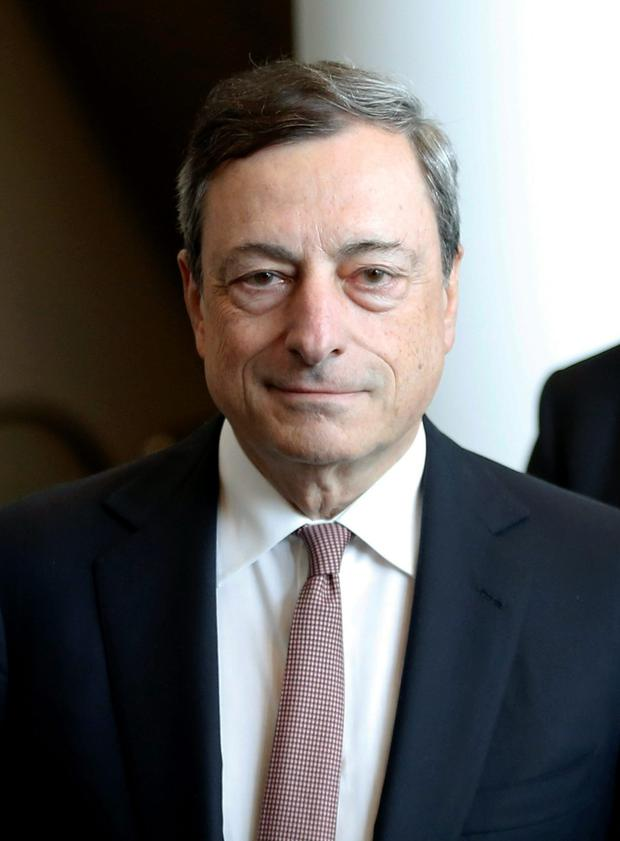 Mario Draghi has said the ECB's programme will continue until inflation settles at just under 2pc