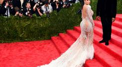 Reality TV face Kim Kardashian is in the French resort to talk about her new app