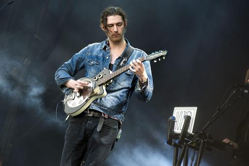 Irish musician Hozier onstage at last year's Electric Picnic festival