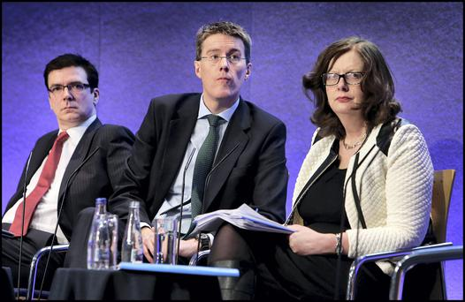 Ann Nolan, Department of Finance on the right.