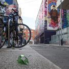 Mix of the old and new: Cope Street in Temple Bar, Dublin