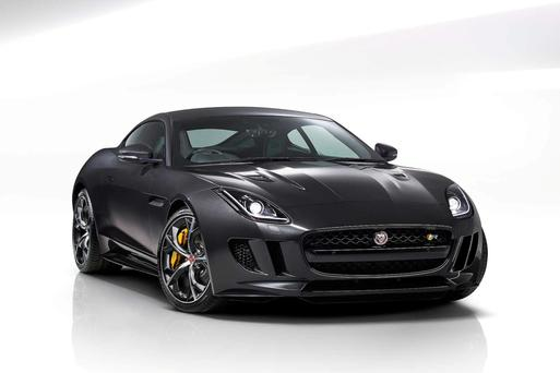 Johnson & Perrott owns a number of luxury car brands, including Jaguar (pictured) and Land Rover