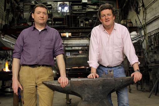 Colm Bagnall and Edward Bisgood of Bushy Park Ironworks in Dublin