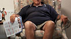 'Gogglebox' star Leon Bernicoff is usually quite happy with terrestrial TV, not always mind...