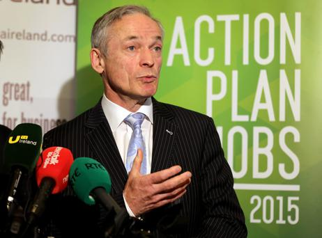 Enterprise minister Richard Bruton has been quick to praise our risk-takers