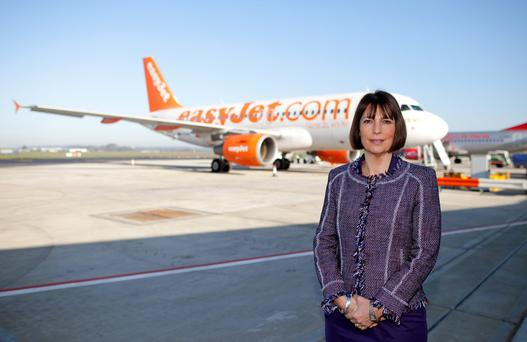 EasyJet boss Carolyn McCall said the airline will make profits of between £620m (€888m) and £660m (€945m) this year