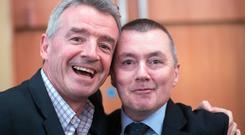 Wingmen: IAG's Willie Walsh and Ryanair's Michael O'Leary