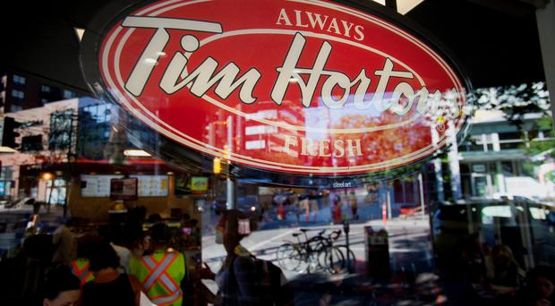 Profit of 30 cents a share by Tim Hortons and Burger King owner
