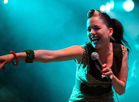 Imelda May performing at the modern day crown jewel of the music calendar, Electric Picnic