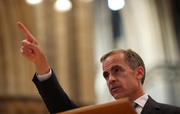 Bank of England Governor points to rate rise early next year