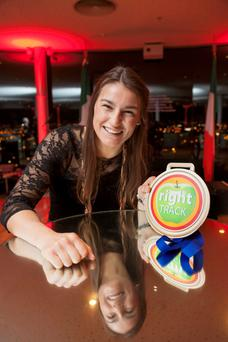 Aramark health and wellness ambassador Katie Taylor