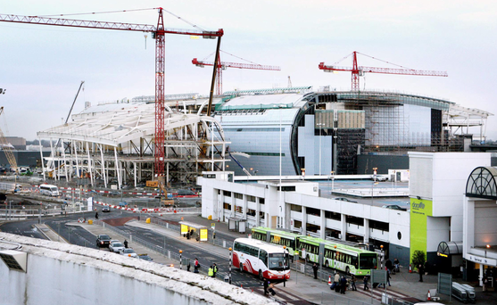 Dublin airport's new terminal was built just in time for the economic crash and slump in numbers