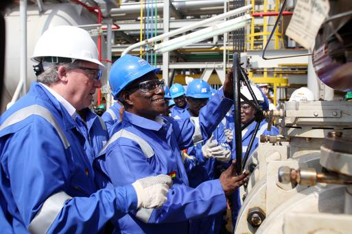 Tullow Oil's flagship Jubilee Field