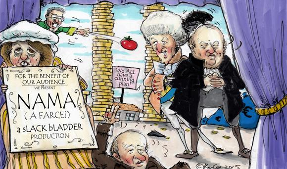 The rising property market has reaped big profits for those that bought Nama loans recently.