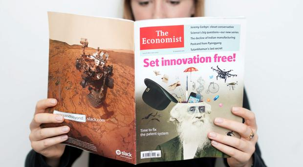 Pearson has sold it 50pc stake in the 'Economist'