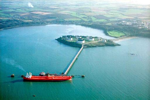 The Whitegate Refinery – the only one in the State – in Cork
