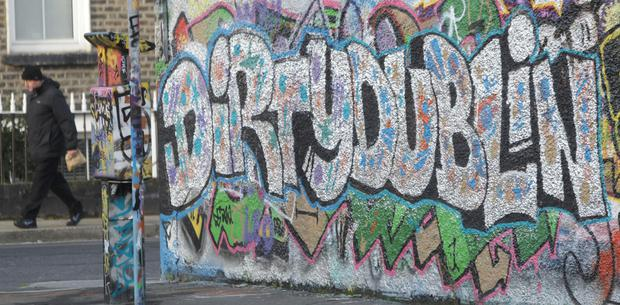 The famous Windmill Lane area of Dublin's Docklands