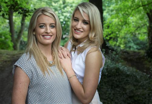 Smile sisters: Lisa and Vanessa Creaven are two of a family of four sibling dentists and they run a practice together in Galway. Photo: David Conachy.