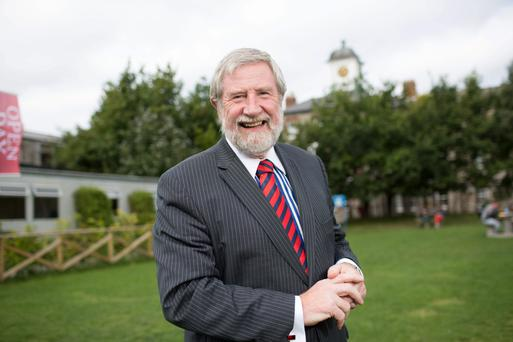 Diarmuid Hegarty, president of Griffith College, thinks student loans are inevitable
