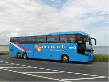 Aircoach is owned by UK-based Firstgroup